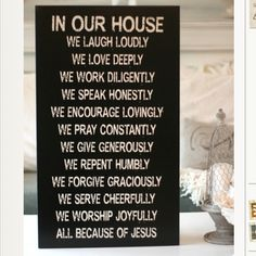 Want for my house! Christian Family Values sign from www.chicklingosigns.com **HOT** For 48 Hours only, Chick Lingo is offering a 25 OFF COUPON for this Big, Beautiful Christian Family Values Sign! Available in Black or White!  Enter Coupon Code: FBFAMILY at Checkout ♥ ♥