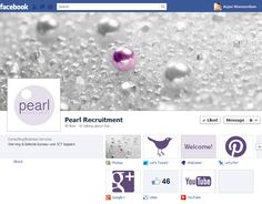 Facebook Page of Pearl Recruitment as a part of the rebranding of the company https://www.facebook.com/PearlRecruitment