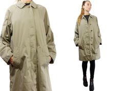BURBERRYS Trenchcoat / Vintage Burberry Coat / by YUMMYVintageShop