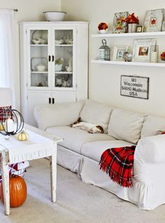 Happy At Home: Fall Living Room