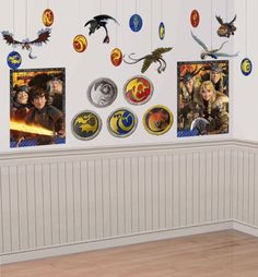 How To Train Your Dragon Room Decorating Kit 22pc Party City