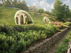 Hobbit Houses New Zealand