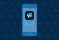 illustrated iphone with a screen enticing you to buy an app