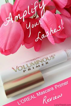 So you weren't blessed with naturally long, thick lashes. Not to worry! This mascara primer has got you covered! Mascara Primer, Eyelash Glue, High End Makeup Brands, Thick Lashes, Faux Lashes, Fake Eyelashes, Beauty Hacks For Teens, Eyeshadow Dupes