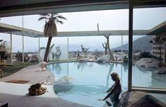 Raymond Loewy House, Palm Springs   arquitecto ALBERT FREY