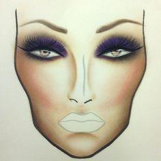 I love MAC face charts!