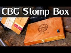 Cigar Box Stomp Box