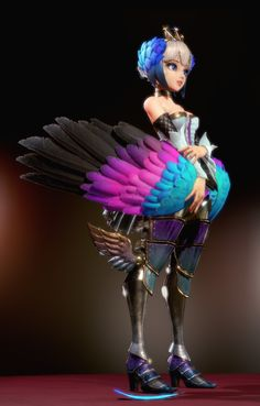 ArtStation - Odin Sphere - Gwendolyn, chang-gon shin