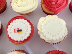 German Theme Cupcakes
