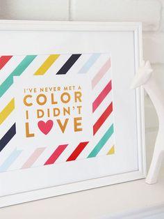 color | love