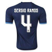 Real Madrid C.F 2015-16 Season SERGIO RAMOS #4 Third Soccer Jersey [PF6212168922]