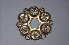 Gilded silver pin, 1300's, Nederkalix Norrbotten. Inventory Number 15507:1 Statens Historiska Museet Christer Åhlin SHMM 2006-03-28
