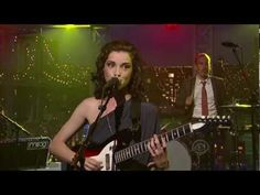 """▶ St Vincent - Cruel on Letterman 8-29-11 - YouTube 