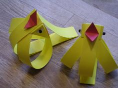 Yellow and blackbirds, fairly simple to make... i do mean fairly