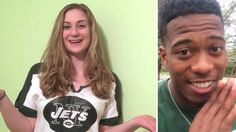 Girl enlists NY Jets players to ask friend with autism to the prom