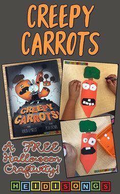 Creepy Carrots: A Free Halloween Craftivity!