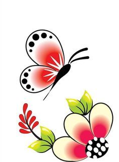 Borboleta Kerala Mural Painting, Stencil Painting, Fabric Painting, Diy And Crafts, Arts And Crafts, Drawing For Kids, Easy Drawings, Doodle Art, Flower Designs