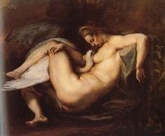 Leda and the Swan - Peter Paul Rubens