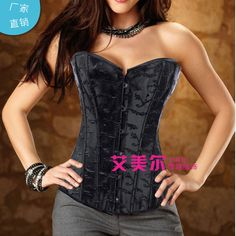 2814 European and American fashion classic white jacquard corset palace / y bridal corset wholesale direct Alternative Measures