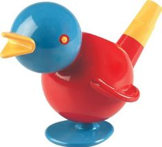 Amazon.com: Ambi Chirpy Bird - Two in One Whistle and Bath Toy: Toys & Games