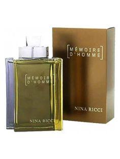 Nina Ricci: Memoire d´Homme, for men - 2002