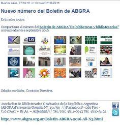 Nuevo número del Boletín Electrónico de ABGRA