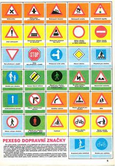 Pexeso - dopravní značky