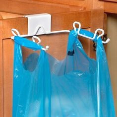 Over Cabinet/Drawer Trash Bag Holder - Spectrum Diversified Designs 65400 - Space Savers - Camping World Popup Camper, Diy Camper, Camper Life, Scamp Camper, Truck Camper, Camper Van, Grocery Bag Holder, Grocery Bags, Grocery Store
