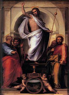 Fra bartolomeo 03 Christ with the Four Evangelists - Fra Bartolomeo - Wikipedia