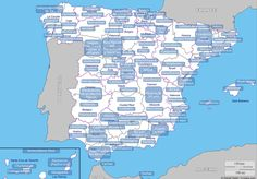 Estereotipos provincia a provincia y adjetivos - B2 Ap Spanish, Spanish Class, Spanish Lessons, Learning Spanish, Timeline Photos, Have Time, City Photo, Spain, The Past