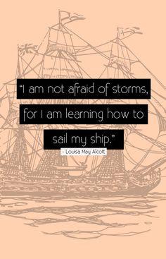 Sail that ship ladies @M.K. F. @Sonja Collins