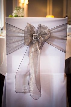 Grey Chair Covers