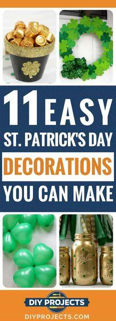 11 Easy St. Patrick's Day Decorations You Can Make | DIY Projects