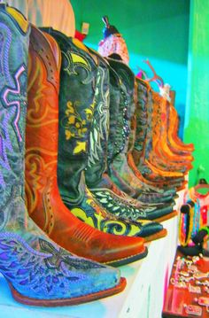Leddy's - Fort Worth Stockyards :) Some of the best boots made in Texas! #cowboyboots #leddys #nothingbetter