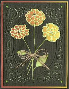 Zinnia Bouquet by Memory Box