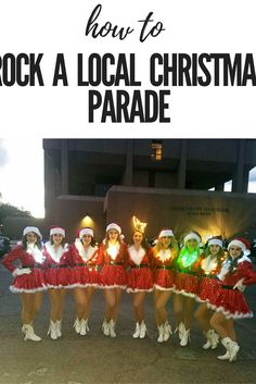 How to be in a local Christmas Parade