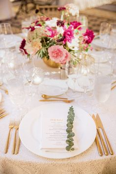 Floral Design: Loop Event Arts - http://www.stylemepretty.com/portfolio/loop-event-arts Event Planning + Design: Ruby & Rose - http://www.stylemepretty.com/portfolio/ruby-and-rose Venue: Ritz Carlton, Half Moon Bay - http://www.stylemepretty.com/portfolio/ritz-carlton-half-moon-bay   Read More on SMP: http://www.stylemepretty.com/california-weddings/2016/10/27/modern-colorful-summer-wedding/