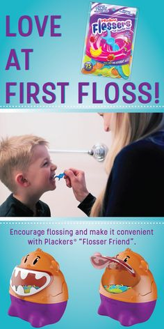 The new Plackers flossers are designed to promote healthy oral habits for…