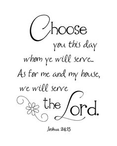 """Vinyl Wall Art Stickers Bible Quote /""""But as for me and my house/""""  Joshua 24;15 j"""
