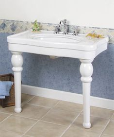 "https://www.plumbingsupply.com/sinks-lavatory-consoles.html  Barclay VERSAILLES console sink; 36"" $1,367.04 or 42"" $1,483.06"