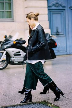 Vanessa Jackman: Paris Fashion Week AW 2014....Natalie