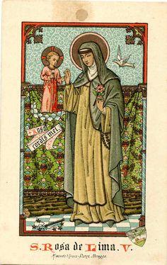St. Rose of Lima, c. 1900, Belgium