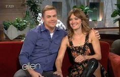 Amy and Derek on The Ellen Show