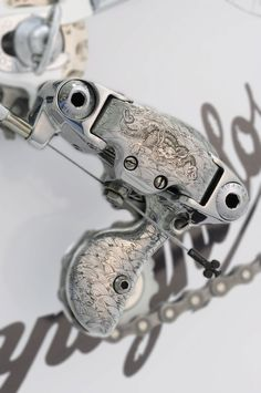 Colnago Master Krono customized with traditional Japanese art. Vintage Luxury Bicycles