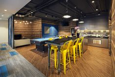 Part break room, part play room. The perfect spot to spend your lunch break.