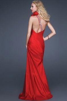 Applique Beaded One Shoulder Satin Sheath Formal Dress