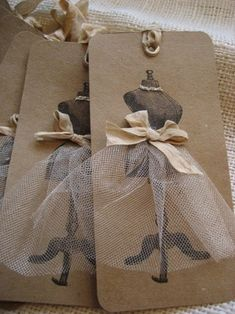 Vintage Gift Tag.. so elegant