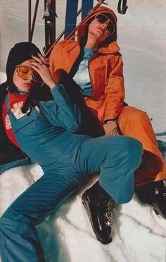 La mode ski prend son vol – Featherstone Vintage / Elle France, November 15 1971, Photographed by Hans Feurer