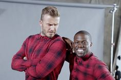 Kevin Hart mangles David Beckham 's accent in H&M extended film http://bit.ly/1Jyzkti