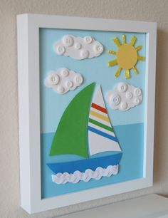 Sail On by studiohappynest on Etsy